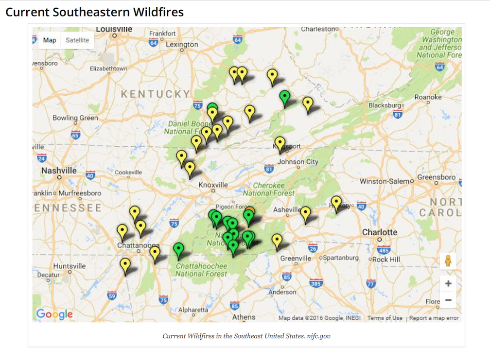Wildfires in Western North Carolina: How to Protect Our Homes ...